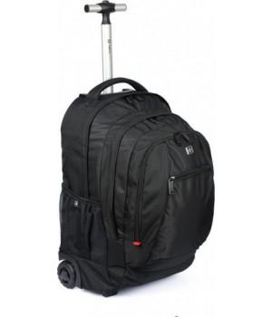 Чемодан-рюкзак на колёсах с выдвижной ручкой SWISSWIN