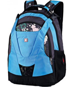 Swisswin Graffity SW8570 Black/Blue 15'' (30л)