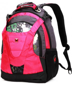Swisswin Graffity SW8570 Black/Rose 15'' (30л)